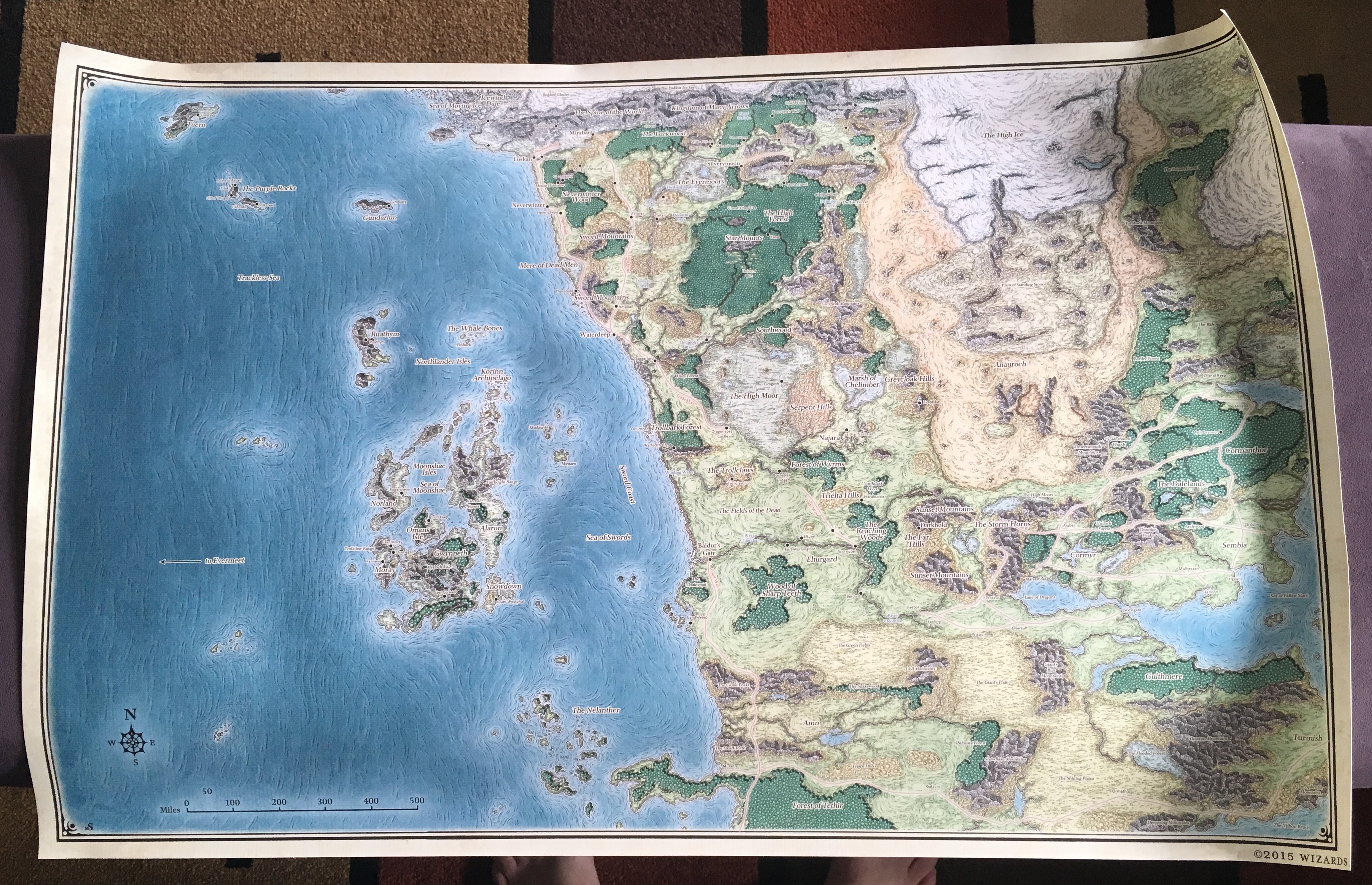 5e Check Out This Beautiful Sword Coast Print