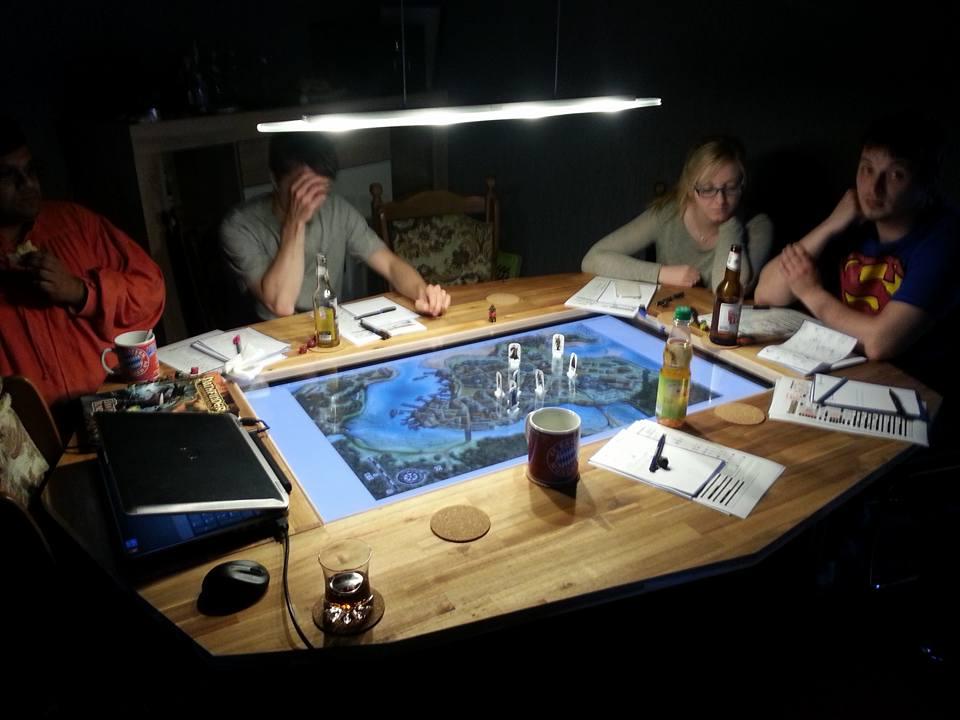 Making A Custom Gaming Table