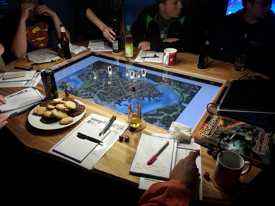 Making A Custom Gaming Table