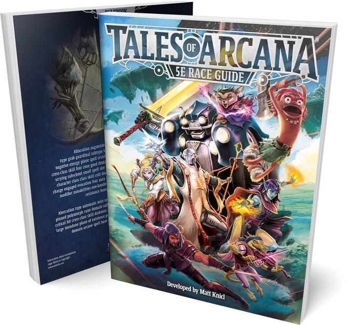 Tales of Arcana 5E (5th Edition) Race Guide.jpg