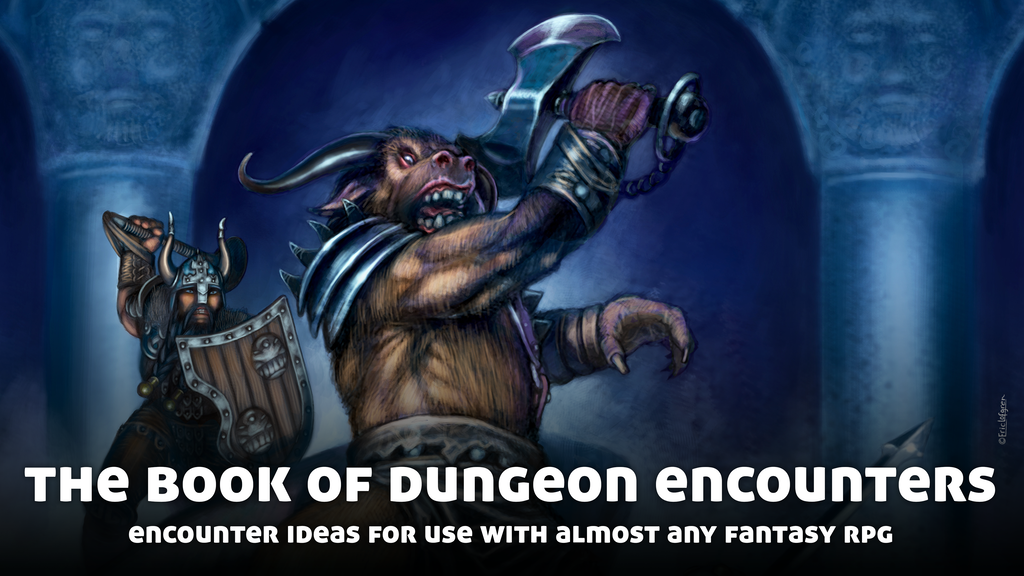 The Book of Dungeon Encounters, for use with Fantasy RPGs.png
