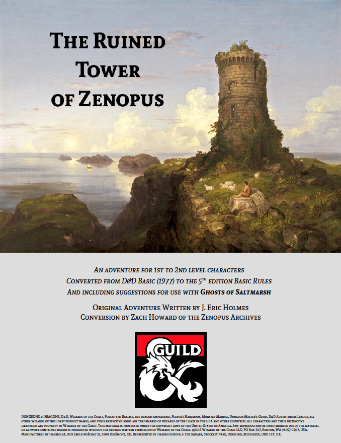 The Ruined Tower of Zenopus 5E screenshot.png