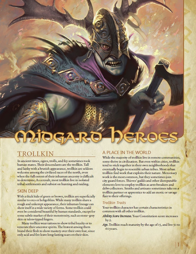 dungeons and dragons 5th edition races pdf