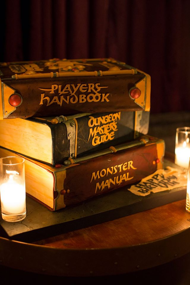 Cake Dungeons And Dragons