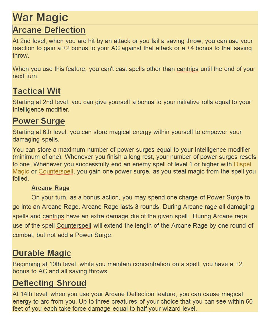 5E Treantmonk's Guide to Everything Xanathar - Page 22