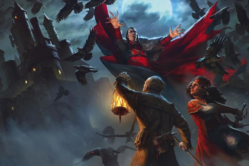 Full Wraparound Cover Art For Ravenloft