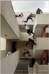 Climb wall bounce walkways Parkour.png