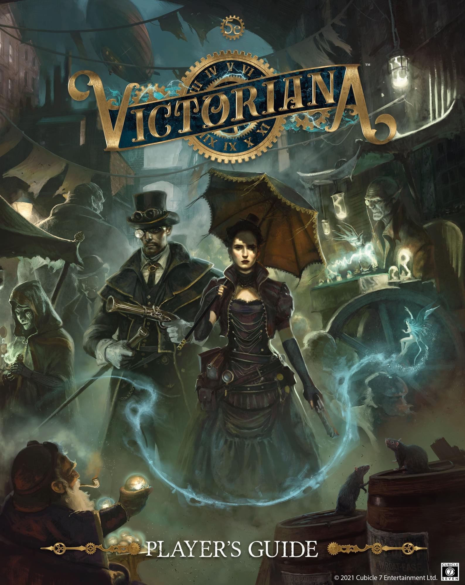 D&D 5E – Cubicle 7 Shares Victoriana's New Cover
